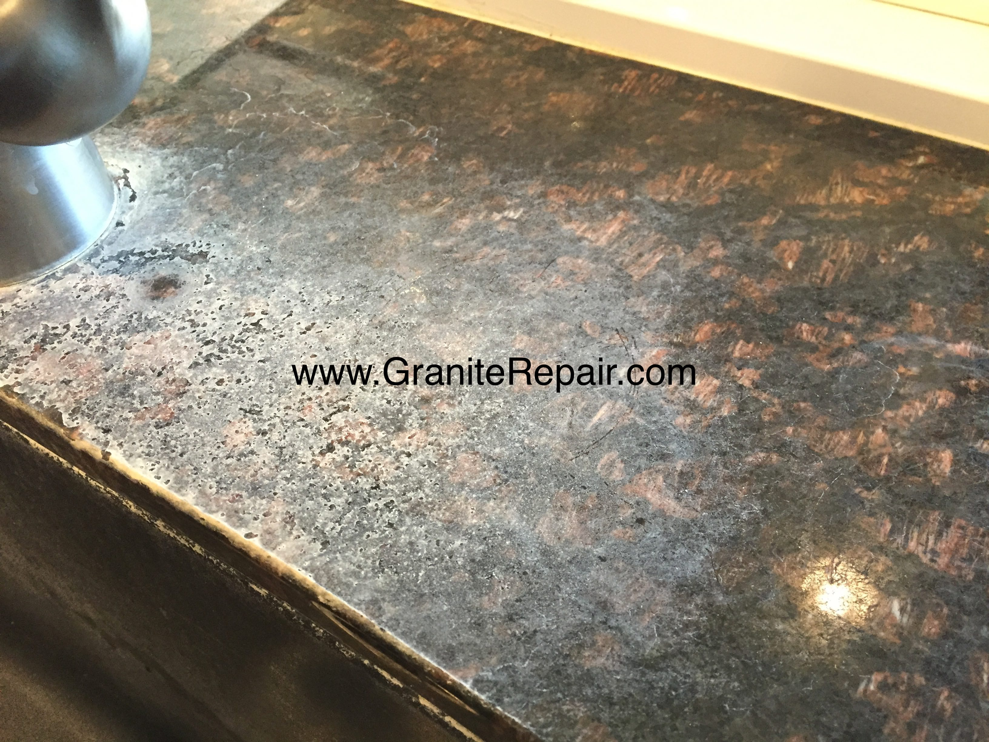 crack grain chips in granite guides and against countertop of fissures cracks to repair sealer going countertops how